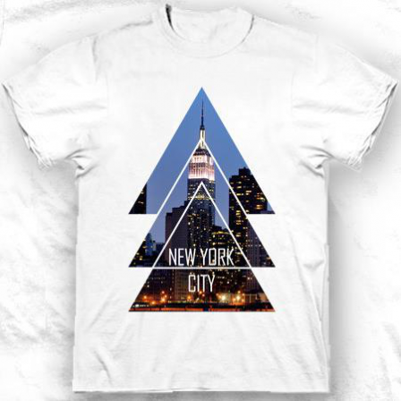 T-shirt América New York