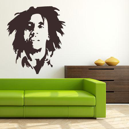 Stickers Bob Marley - Stickers Malin