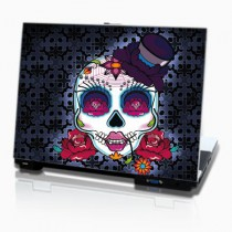 Stickers PC & Mac Crâne Mexicain