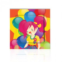 Stickers INTERRUPTEUR Cirque clown 3