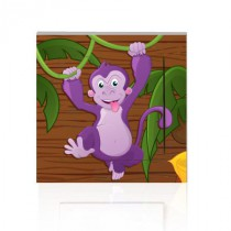 Stickers INTERRUPTEUR JUNGLE Singe
