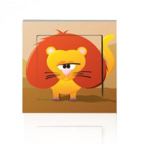 Stickers INTERRUPTEUR SAVANE Lion