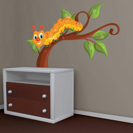 stickers chenille coquine stickers malin. Black Bedroom Furniture Sets. Home Design Ideas