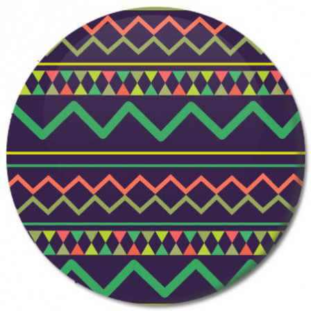Badge Inca couleur