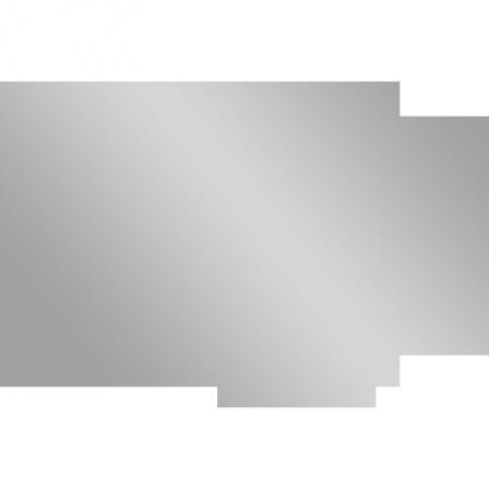 Stickers miroir en forme de poisson stickers malin for Stickers miroir en rouleau