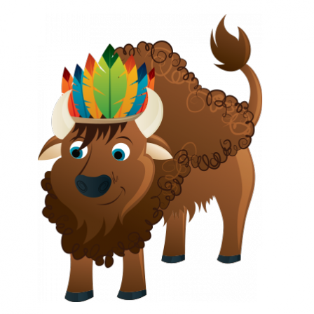 Stickers ANIMINDIEN Bison