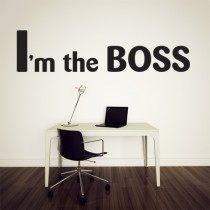 Stickers CITATION I'm the BOSS