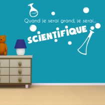 Stickers JE SERAI Scientifique