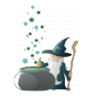 Stickers TOISE magicien