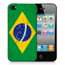 Coque iphone 4 Brésil I LOVE BRAZIL