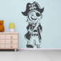 Stickers BONHOMMES PIRATES Capitaine