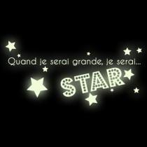 Stickers Star phospho