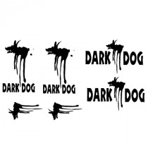 Stickers moto Dark dog