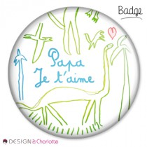 Badge Amour Papa
