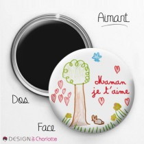 Aimant Amour Maman 1