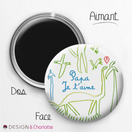 Magnet Amour Papa