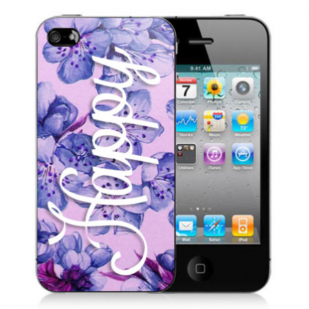 Stickers iPhone fleur