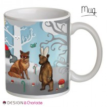 Mug Animal Foret Enchantée