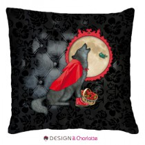 Coussin Animal Design Loup