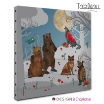 Tableau Animal Foret