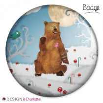 Badge Animal Ours