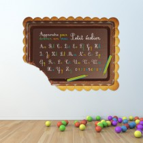 Stickers Biscuit Tableau Ecolier