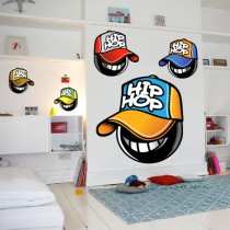 Stickers Mascottes hip-hop