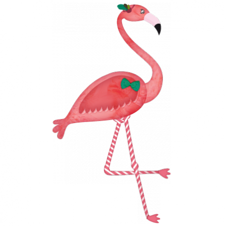 Stickers Animal Foret Flamant Rose Stickers Malin