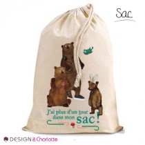 Sac Animal Forêt - Ours