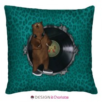 Coussin Animal Design Mr Ours