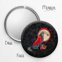 Miroir Animal Design Loup