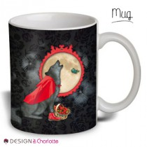 Mug Animal Design Loup