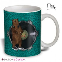 Mug Animal Design Mr Ours