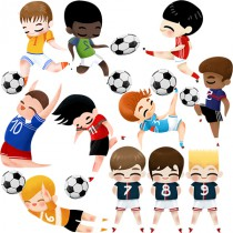 stickers les Footeux