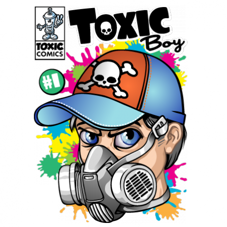 Stickers Toxic boy