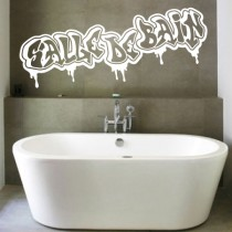 Stickers Graffiti Salle de Bain