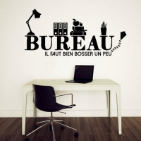 stickers bureau stickers malin. Black Bedroom Furniture Sets. Home Design Ideas