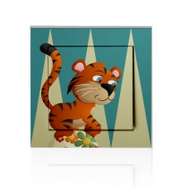 Stickers INTERRUPTEUR Tigre