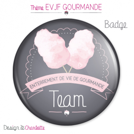 Badge Amour Gourmand 2