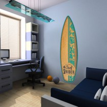 Stickers Aloha Planche Surf