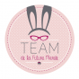 Badge Amour Lapin 2