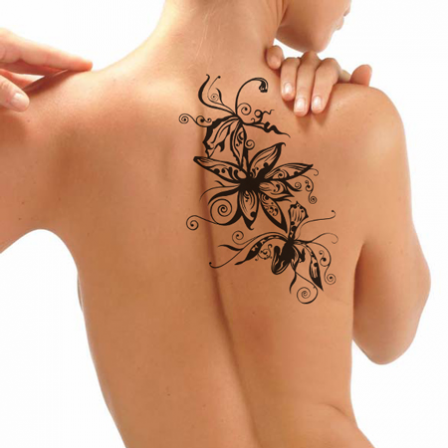 Tattoo Orchidee Stickers Malin