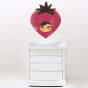Stickers Adorables Fruits - la fraise