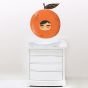 Stickers Adorables Fruits - la mandarine