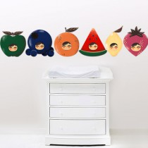stickers Adorables Fruits
