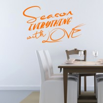 Stickers Cuisine - Season with love