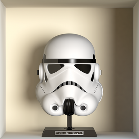 Stickers apparence storm trooper