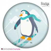 Badge Animaux Banquise