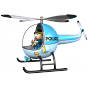 Stickers Alerte police 5 helico