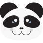 Stickers Ti Panda